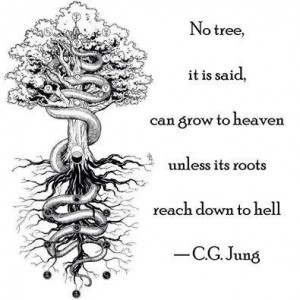 Kökleri cehenneme uzanmadığı taktirde hiçbir ağaç cennete yükselemez derler